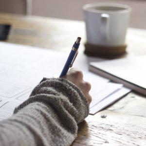 La escritura terapéutica para iniciar tus sesiones de psicología online
